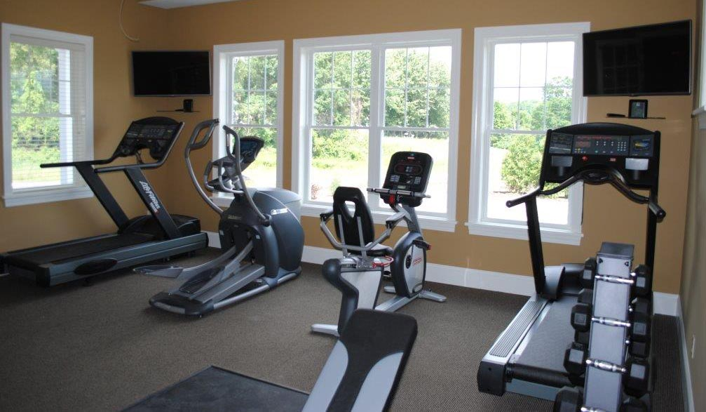 Work Out Room at StoneBrook Townhomes and Cottages