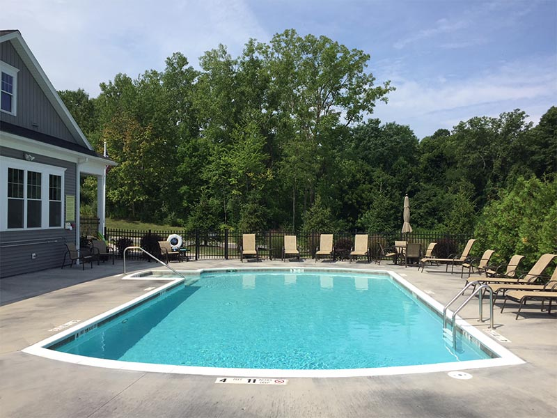 The Pool at StoneBrook Townhomes and Cottages