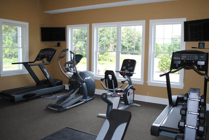 Work Out Room At StoneBrook Towndomes And Cottages